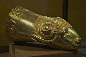 Gold_Rhyton_in_the_form_of_a_Ram's_Head_-_Reza_Abbasi_Museum_-_Tehran,_Iran